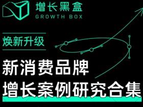 增长黑盒新消费品牌增长案例研究合集