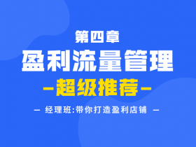 幕思城电商教程之第四章 盈利流量管理:超级推荐