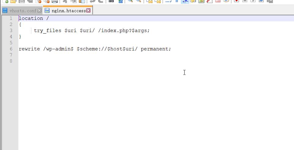 phpStudy2018 nginx 伪静态设置